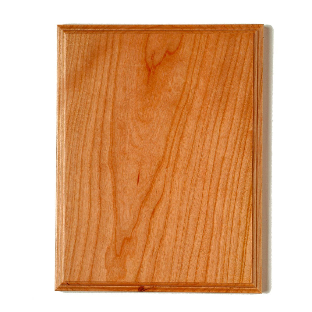 Cherry No Glue Joint Plaque