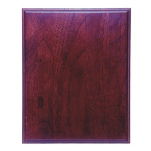 Cherry with Cherry Finish Rectangle Plaque