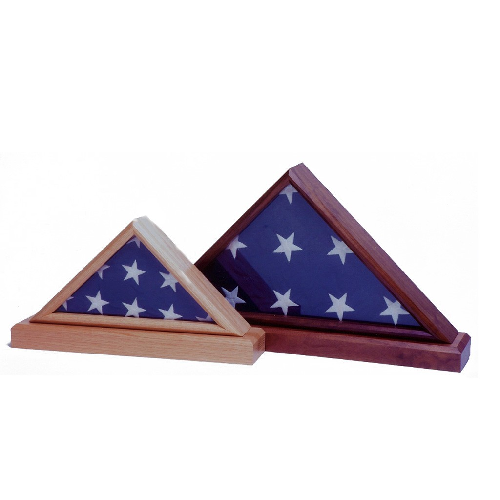 Wood flag cases from Big Sky