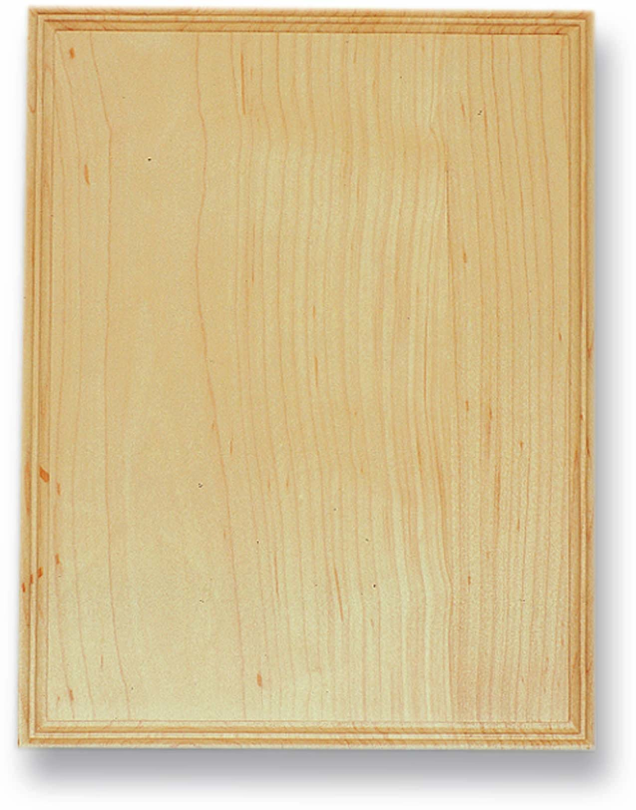 Maple Rectangle Plaque