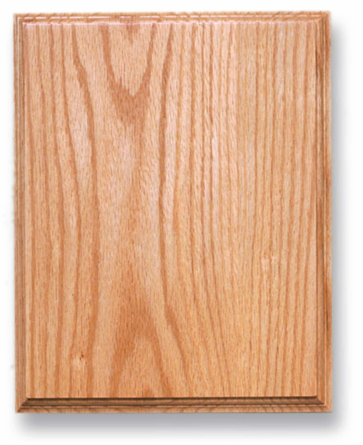 Oak Rectangle Plaque