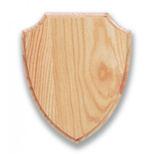 Wood Shield Plaque For Taxidermy Mounting