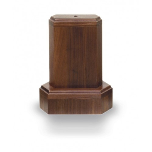 Diamond edge one tier wooden display towers from Big Sky Woodcrafters