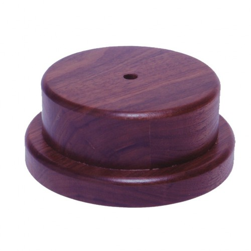 Round Base, overall thickness 2.25""
