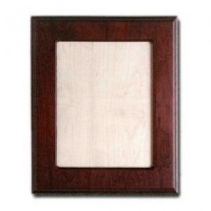 Walnut Picture Frame with Maple Insert