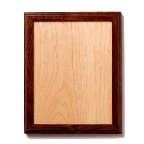 Rectangle Plaque with Contrasting Inlay